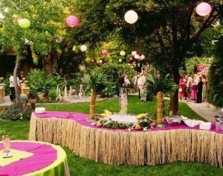 Hawaiian Theme Party Ideas