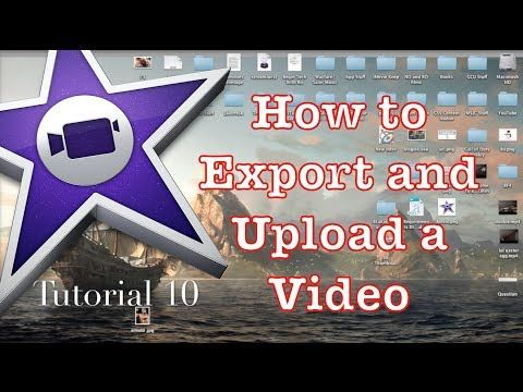 How to Export in iMovie 10.0.1 1 Experiencing Youtube