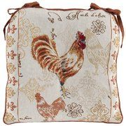 Rooster Chair Cushions Kitchen Mat Decor Roosters