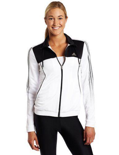 adidas Women's Response Warm-Up Jacket $60.00 | Adidas women ...