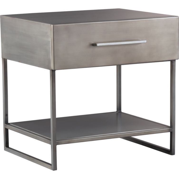 PURCHASED Love This Proof Nightstand In Bedroom Furniture - Cb2 bedside table