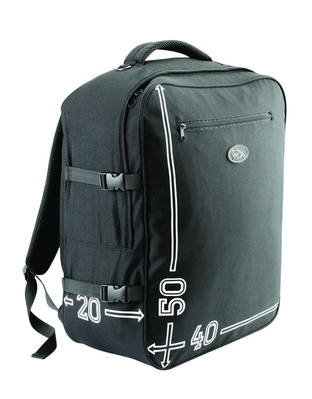 41b7ed897b4f Cabin Max Barcelona 50 x 40 x 20 cm hand luggage backpack (black) Cabin