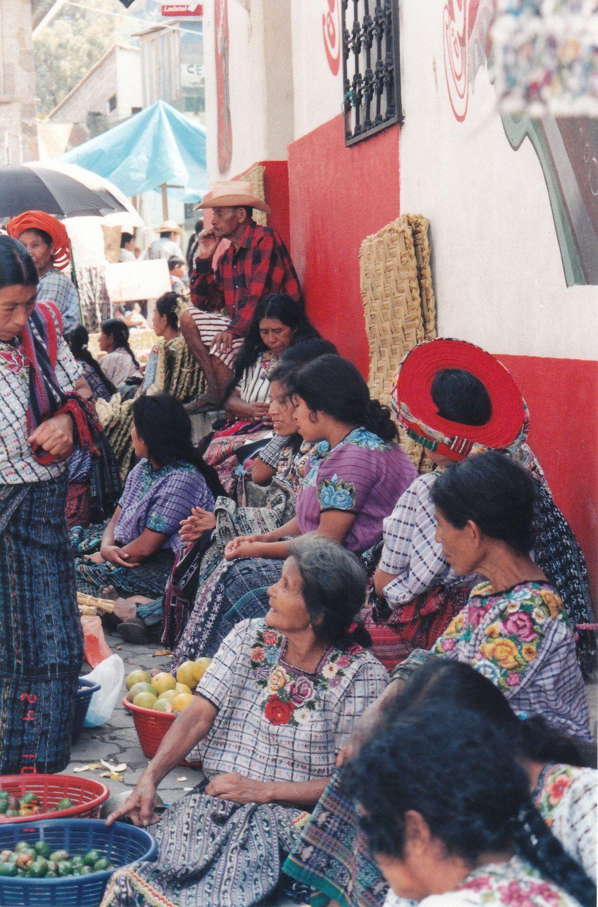 In Villages Near Lake Atitlan Lake Atitlan Native American Peoples Guatemala