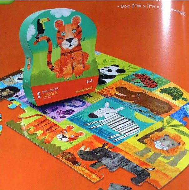 Amy Schimler Safford New Puzzle Crocodile Creek Safford