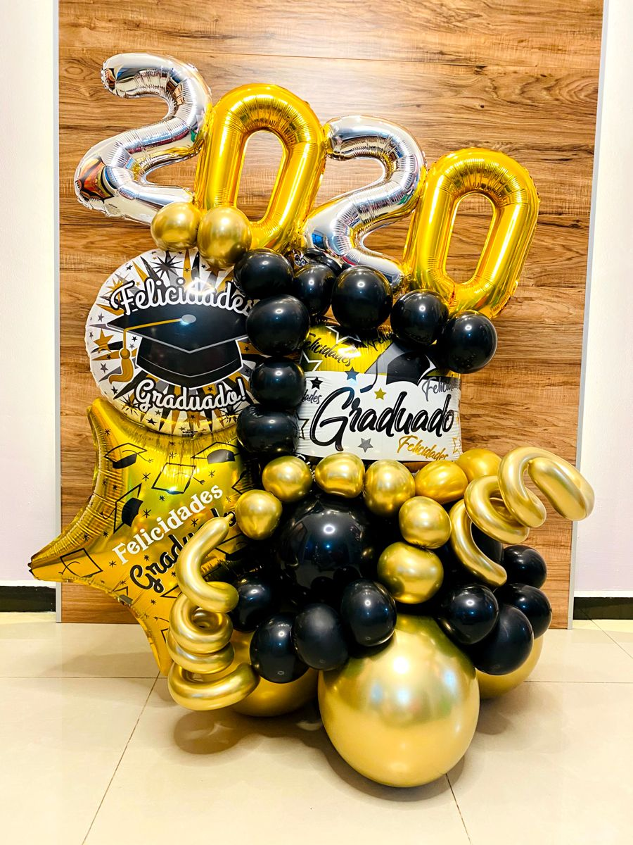 Gold New Year S Party Collection Balloons 2021 New Year S Party Decorations Foil Balloons Balloon Decorations