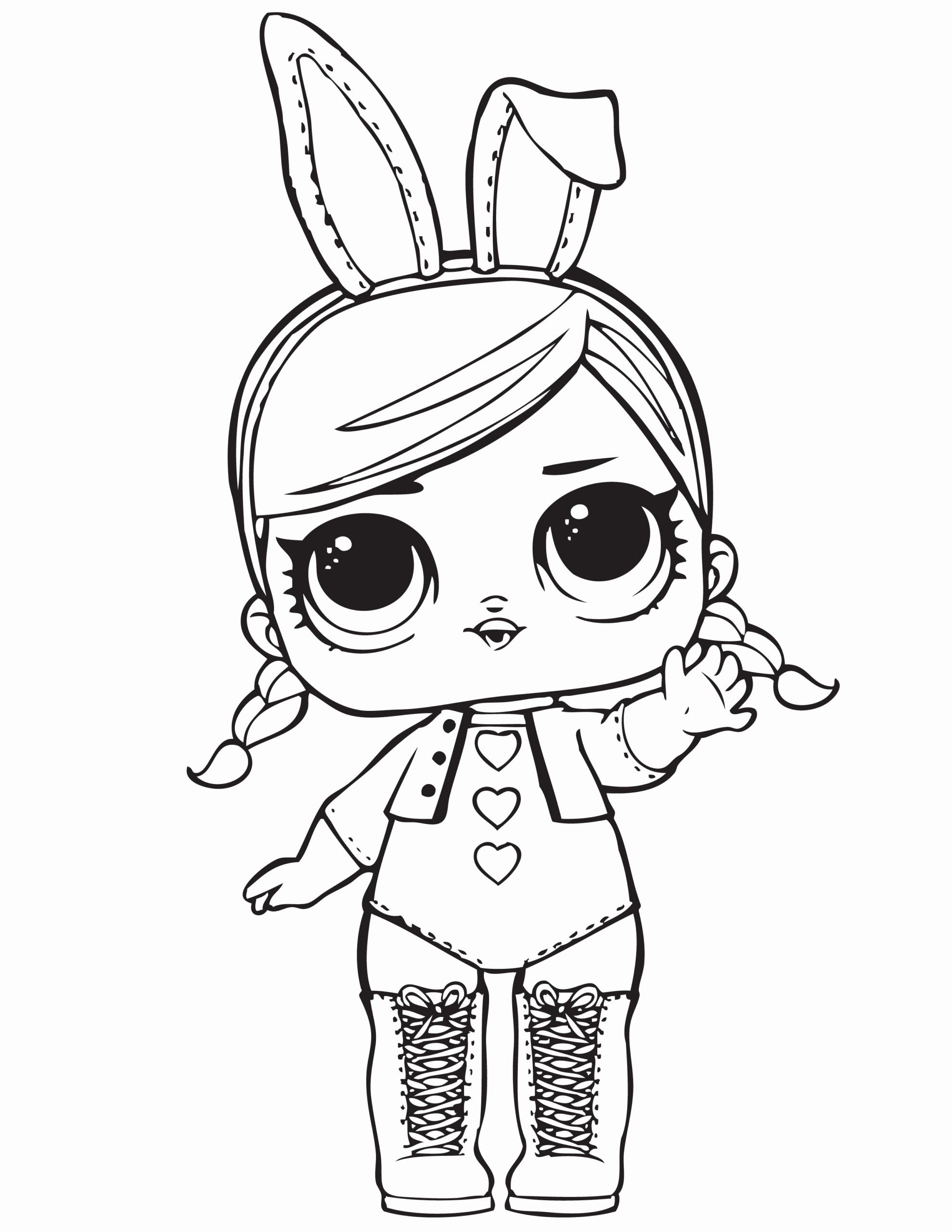 Lol Surprise Free Coloring Image Pages For Kids – Cute18