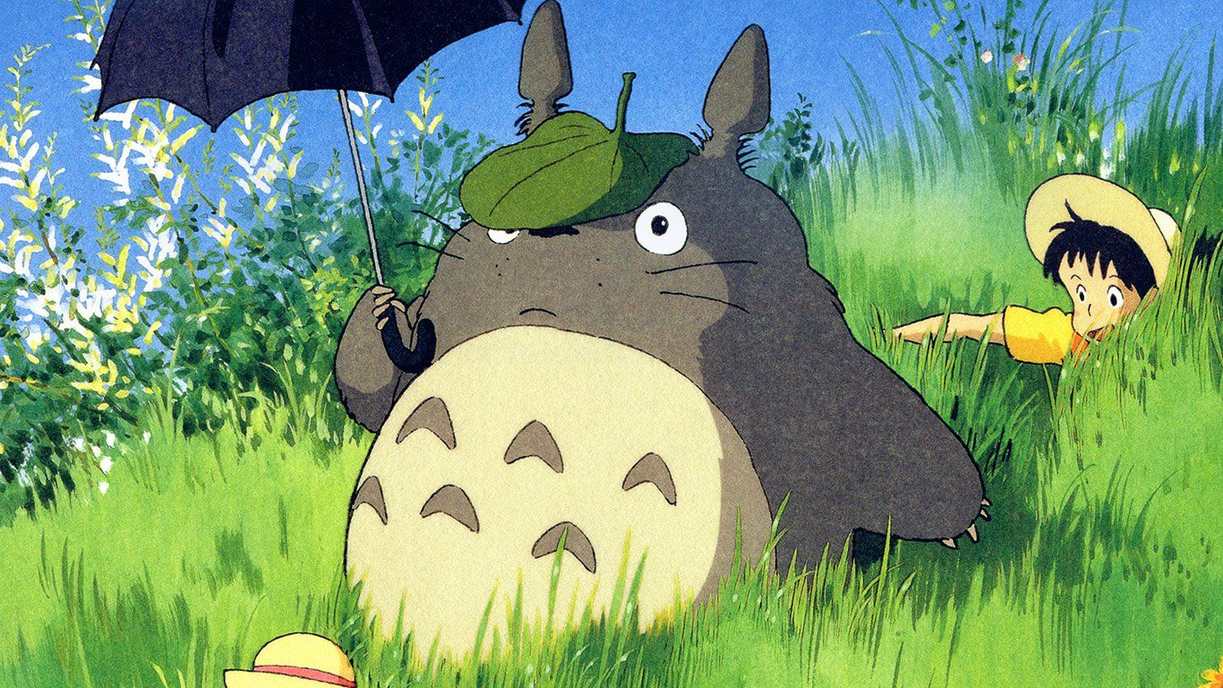 Pin by eman alsh on Bff drawings Totoro art, Cute girl