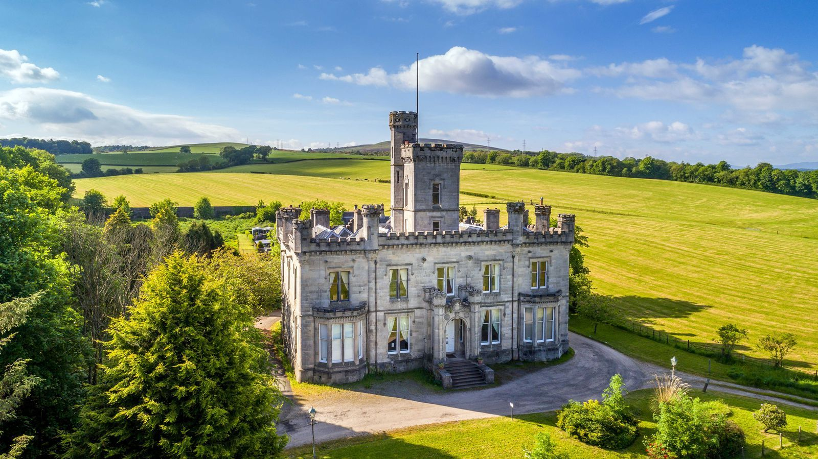 This Entire Gothic Castle In Scotland Is On Sale For Less Than
