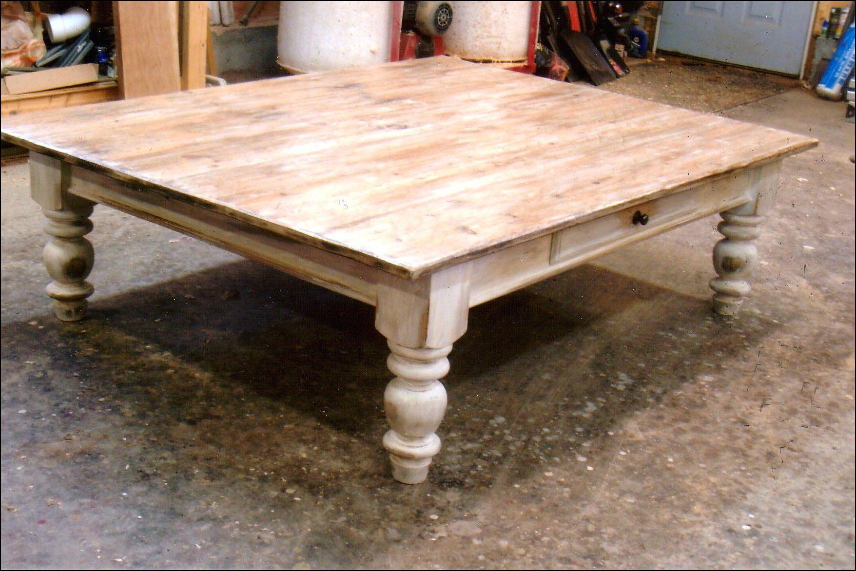 Genial Coffee Table, Turned Legs.