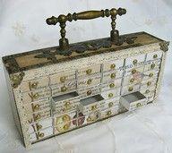 Match box drawers