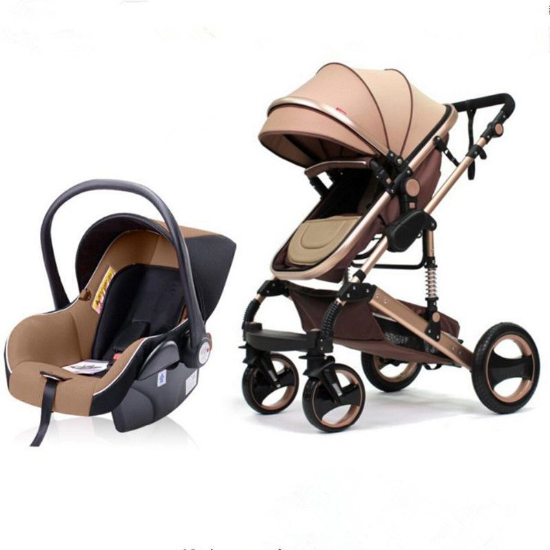 3in1 Foldable Baby Infant Carriage Kids Travel Stroller