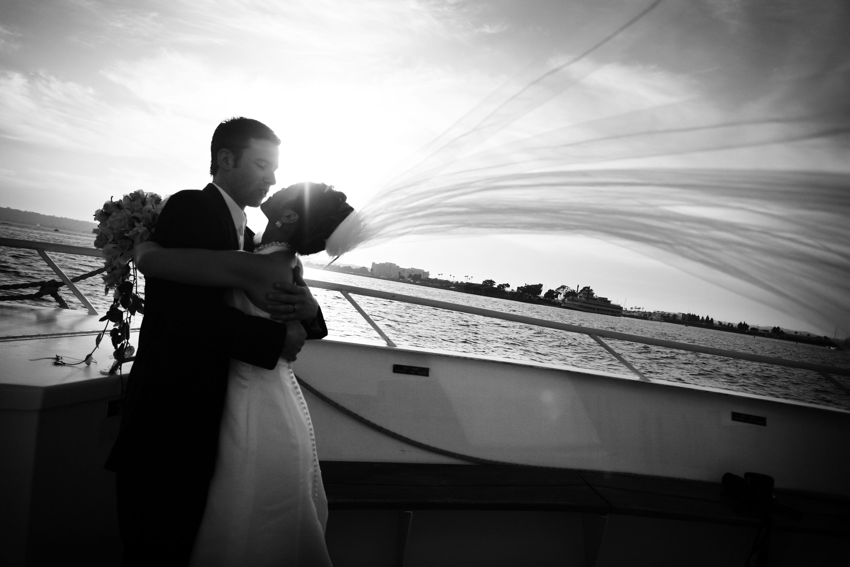 Wedding with Hornblower Cruises & Events. San Diego