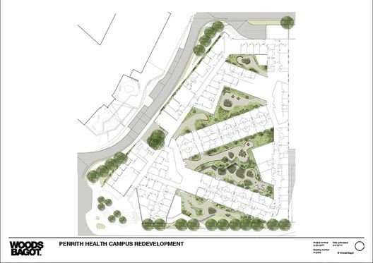 Health care center architecture plan
