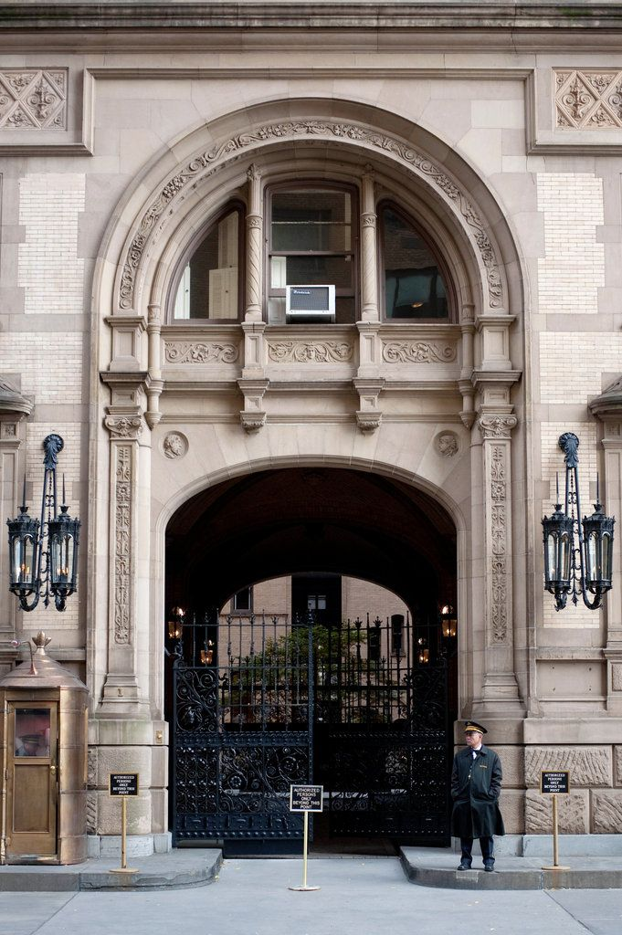 The Dakota Apartment Building Central Park West New York City New York