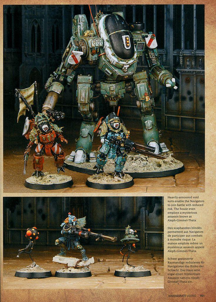 30+ Warhammer 40K Navigator Model