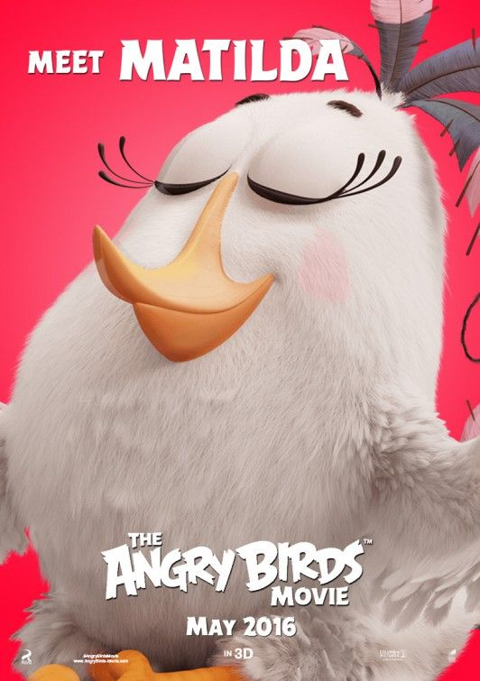 Angry Birds Films Dessins Animes Angry Birds Affiche Film