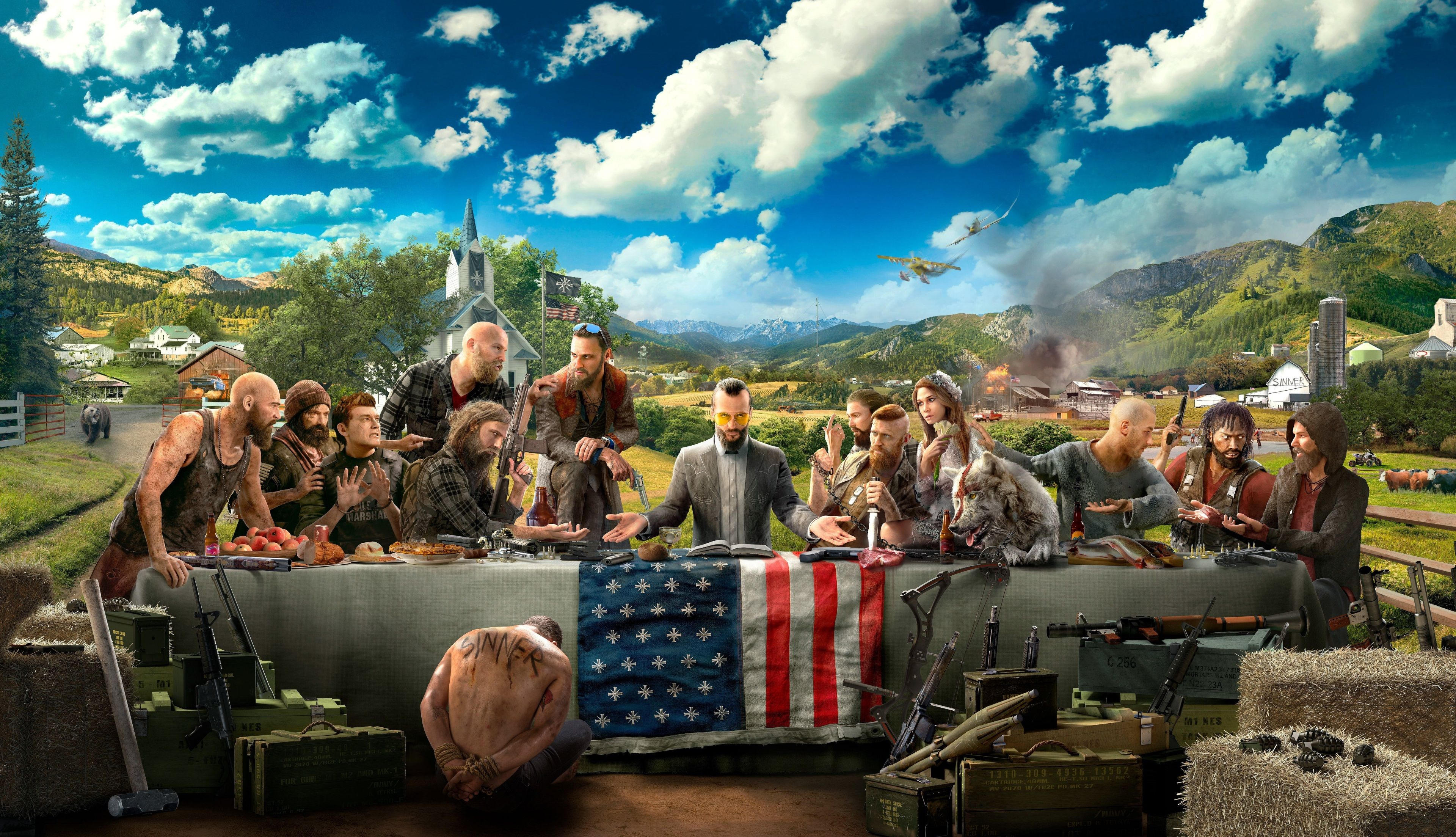 3840x2207 Far Cry 5 4k Best Wallpaper For Computer Desktop Far Cry 5 Far Cry 5 Game Ubisoft