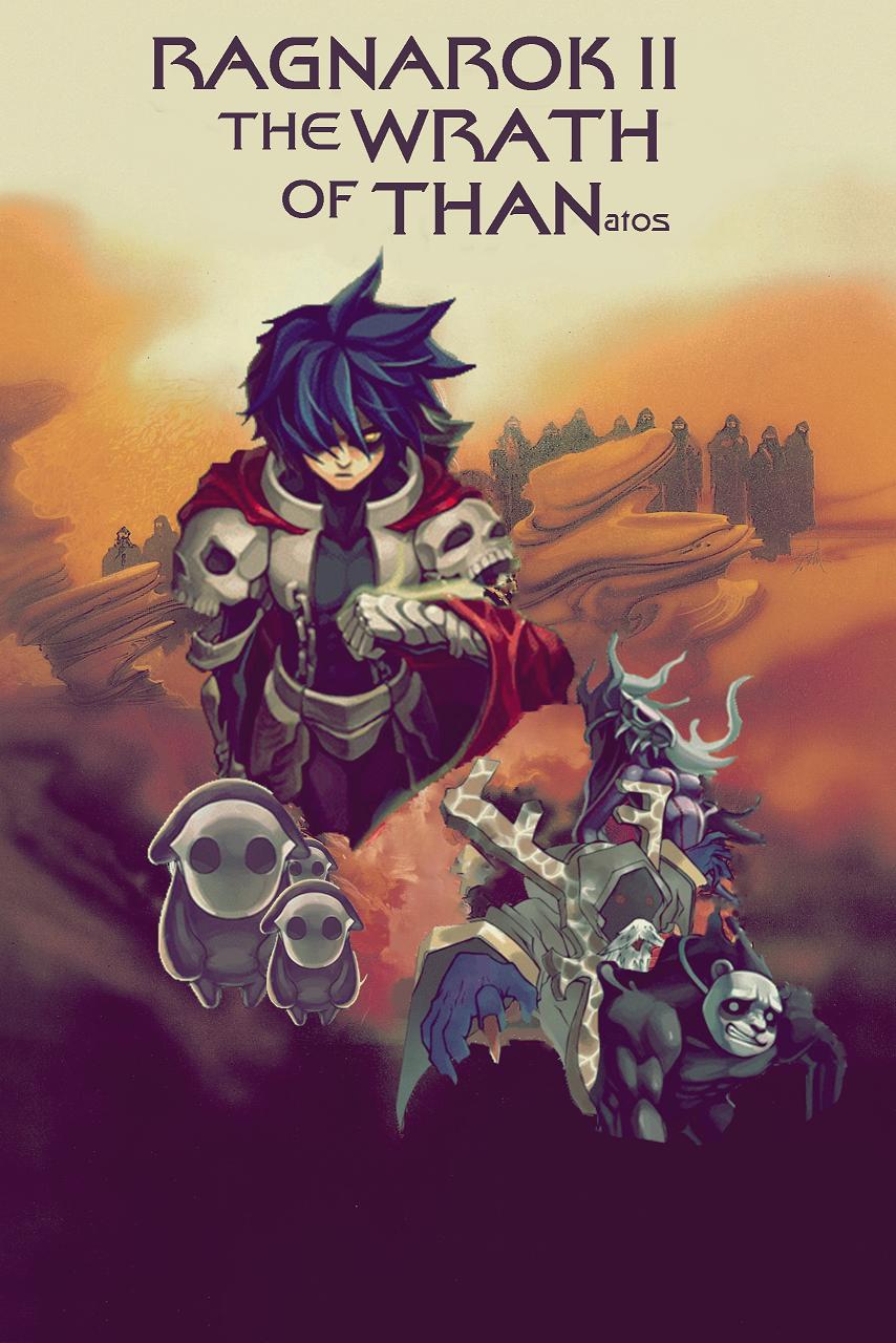 Ragnarok II The Wrath of Thanatos by juxtapposed
