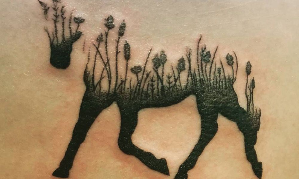 Unique Horse Tattoos for The Courageous Cowgirl | Horse tattoo ...