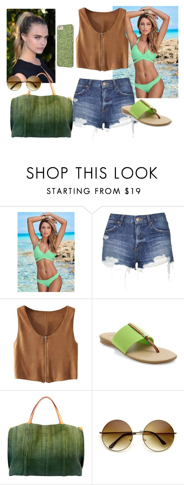 """""""Untitled #524"""" by anasofiasousavieira on Polyvore featuring Venus, Topshop, Andre Assous, Pretty Green and Old Trend"""