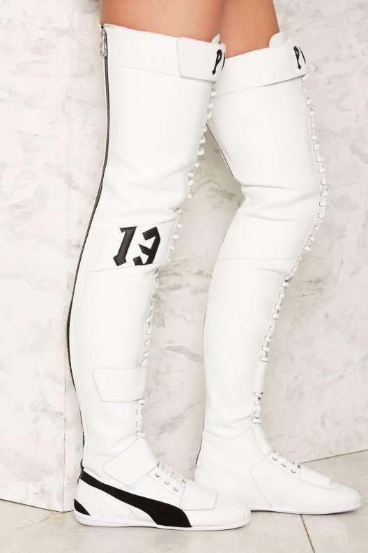 FENTY PUMA by Rihanna Eskiva Leather Sneaker | Sneaker boots