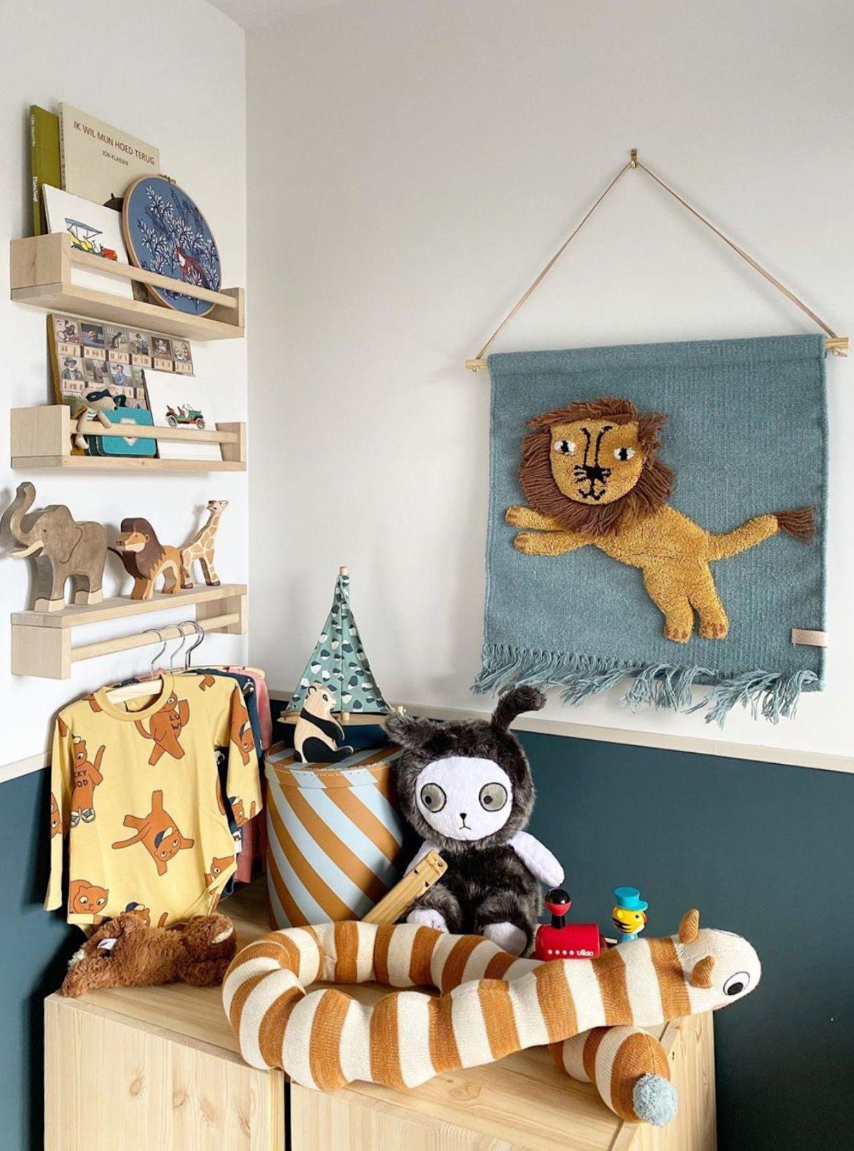 Kid S Room Oyoy Jumping Lion Kids Room Children Childrens Room Decor