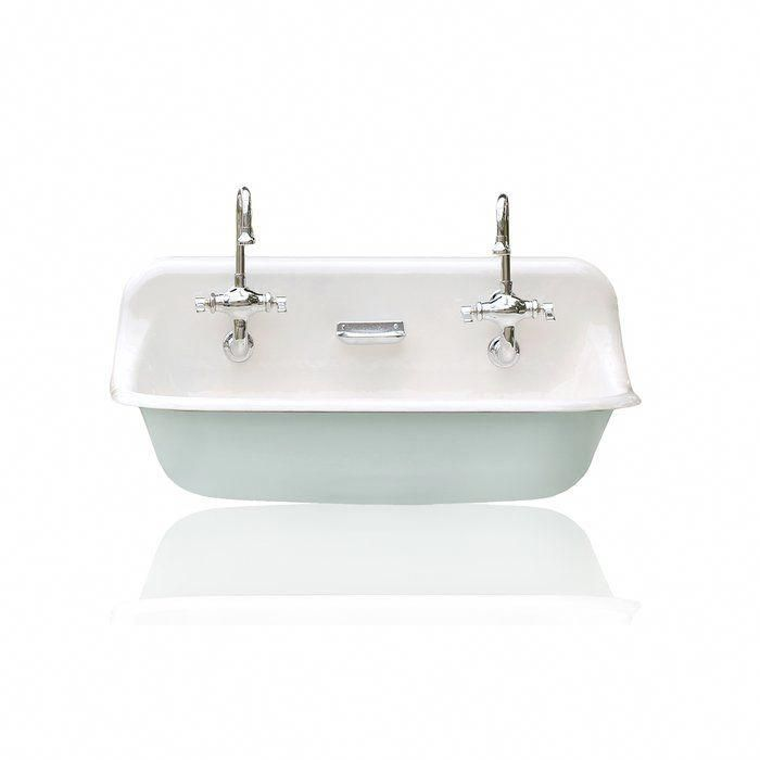 "high back 36"" antique inspired kohler farm sink"