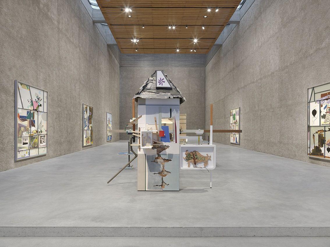 Helen Marten Fixed Sky Situation Konig Galerie 2019 Installation View By Annik Wetter