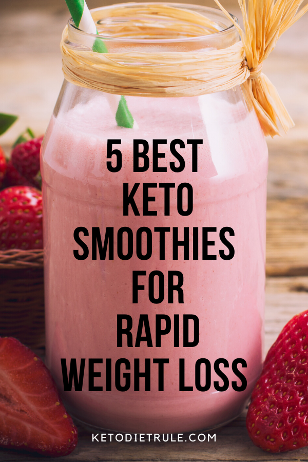 5 Best Keto Smoothie Recipes for Weight Loss – Keto Diet Rule