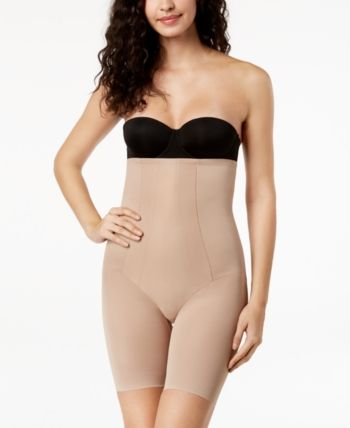0b81d48aaaa03 Miraclesuit Women s Extra Firm Tummy-Control Shape with an Edge High Waist  Thigh Slimmer 2709 - Brown L