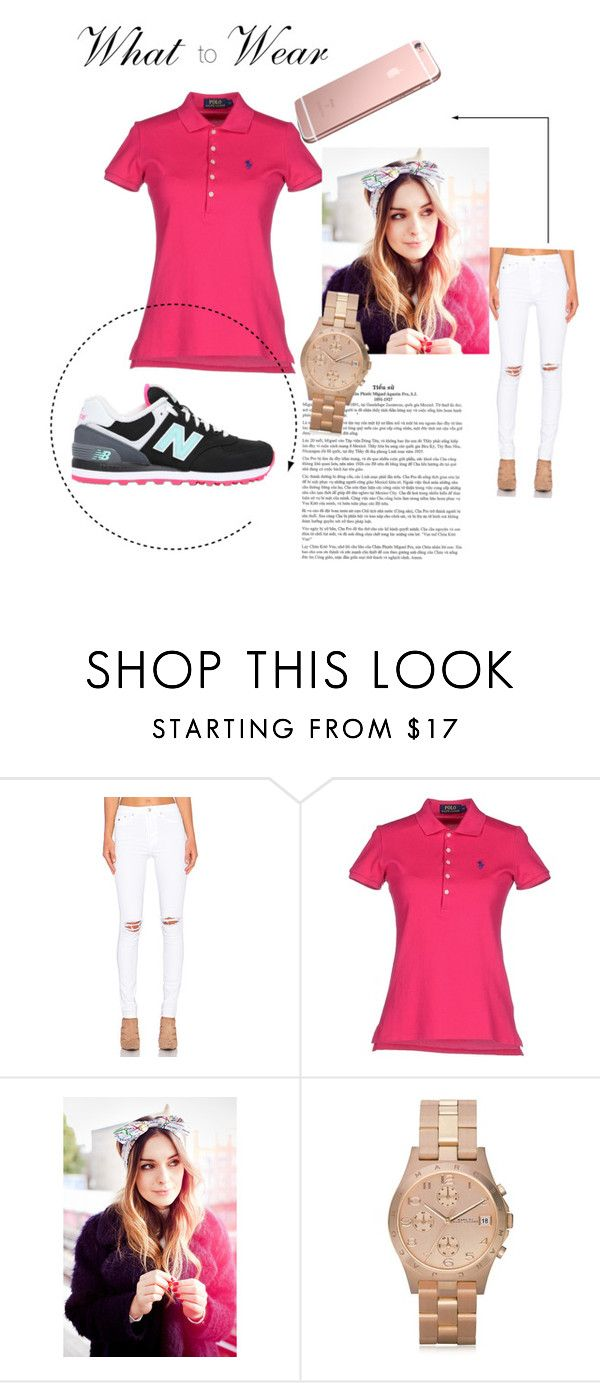 """""""#4casual"""" by sejlaaa-nukic ❤ liked on Polyvore featuring RES Denim, Polo Ralph Lauren, Marc by Marc Jacobs, New Balance, women's clothing, women's fashion, women, female, woman and misses"""