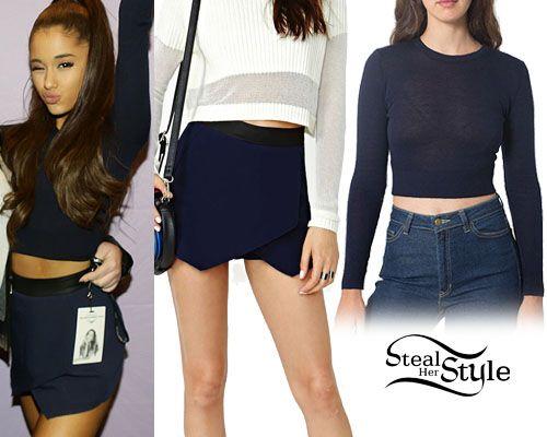ปักพินโดย Nungari Grande ใน Ariana's Outfits