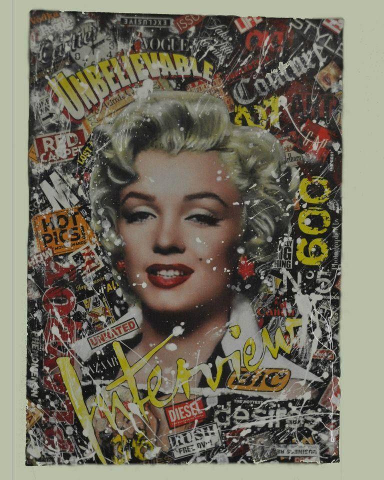 arte con Marilyn