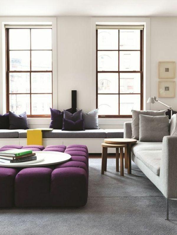 Wohnzimmer Einrichtungsideen Attraktive Sitzgelegenheit