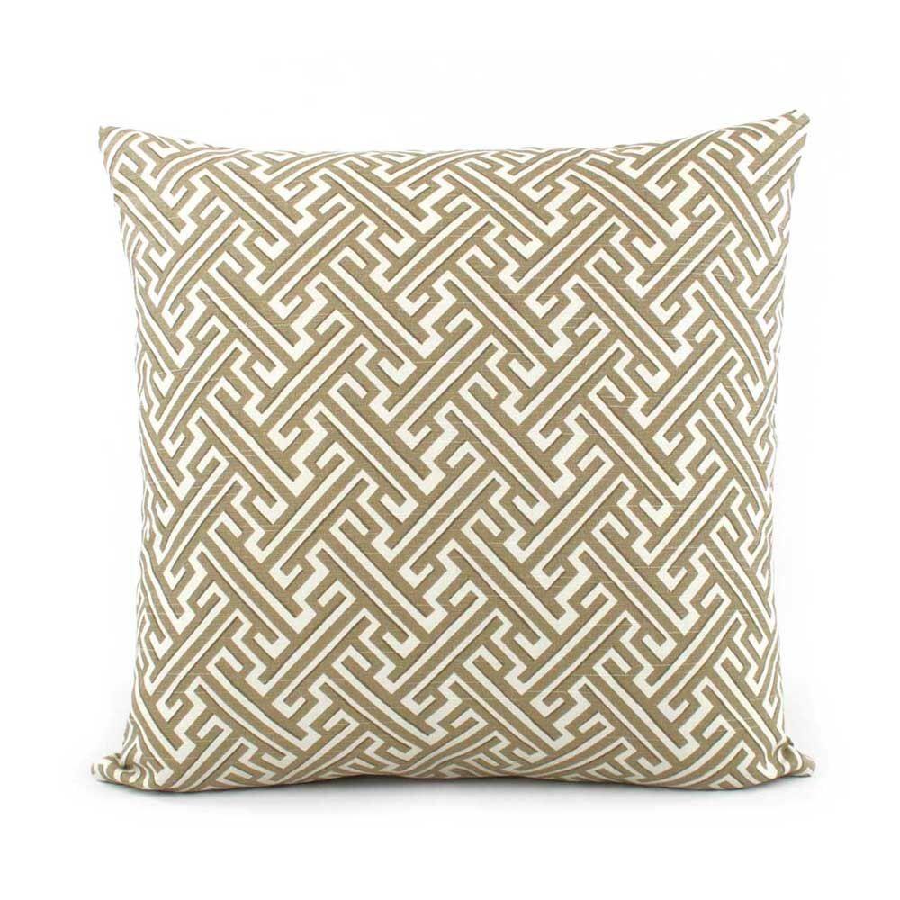 Trellis Tan Pillow Cover, 20x20, 20x20, 20x20, 20x20, Euro Sham or ...