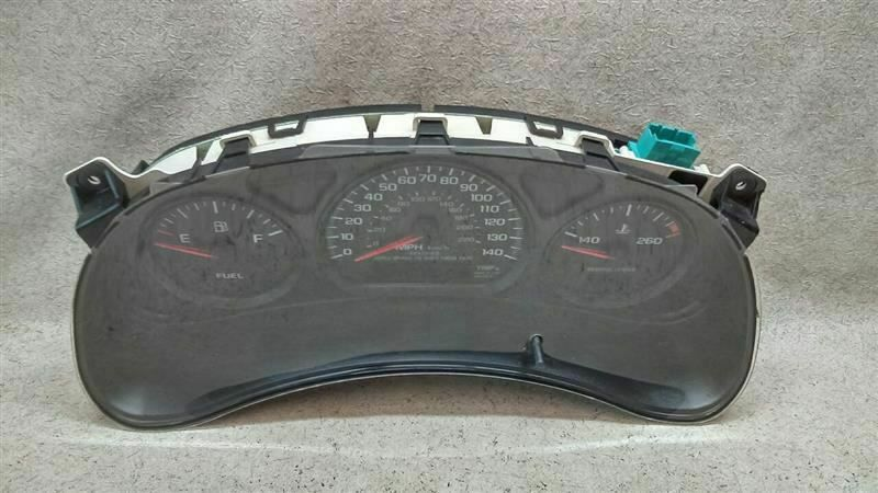 Speedometer Instrument Cluster 10306209 Us Police Package Fits 00 05 Impala F14 Chevrolet Impala Buick Regal Police