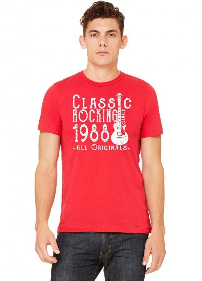 rocking since 1988 copy Tshirt