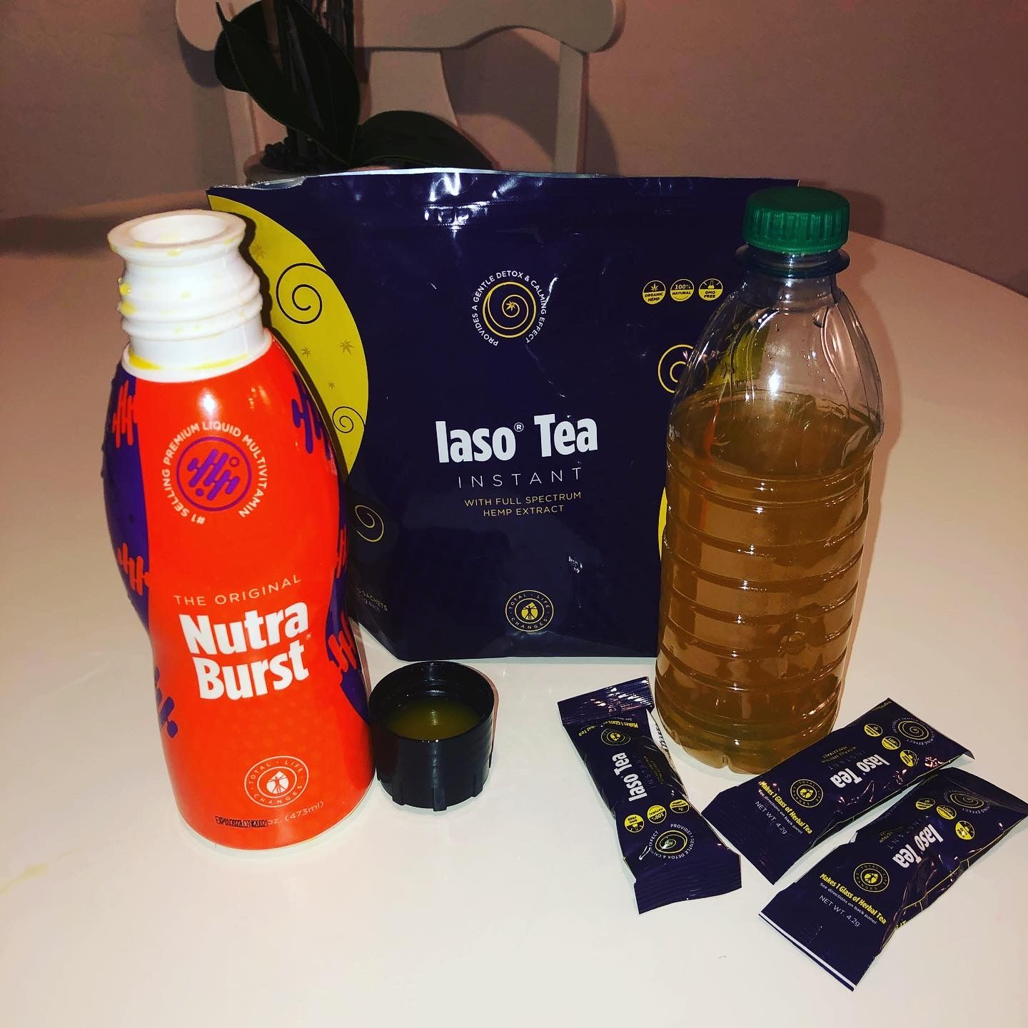 Iaso Tea Will Detox Your System Nutraburst Will Replenish Your Body With The Nutrients Needed Amazing Liquid Multiv In 2020 Total Life Changes Life Changes Iaso Tea