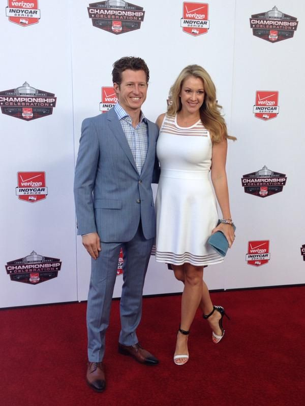 Ryan and Nicole Briscoe at the 2015 Verizon IndyCar Series Championship  Celebration | Wife and girlfriend, Sports women, Beautiful feet