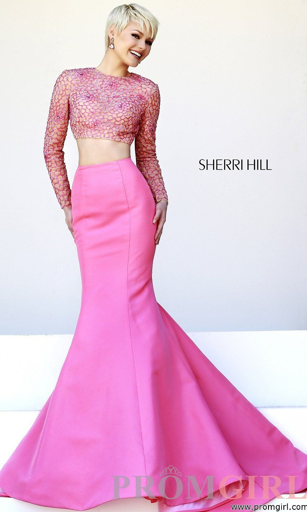 Prom Dresses, Plus Size Dresses, Prom Shoes -PromGirl : Two Piece ...