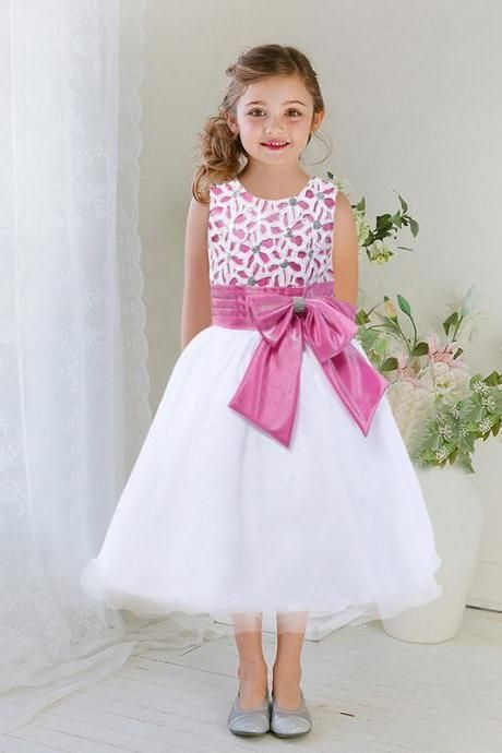 4a11a8486 Lovely Halter Lace Flower Girls Dresses For Weddings Quinceanera ...