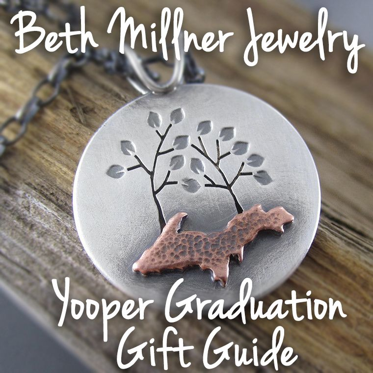 A roundup of perfect gifts for your Yooper grad! Send them away remembering their time in the Upper Peninsula in style!