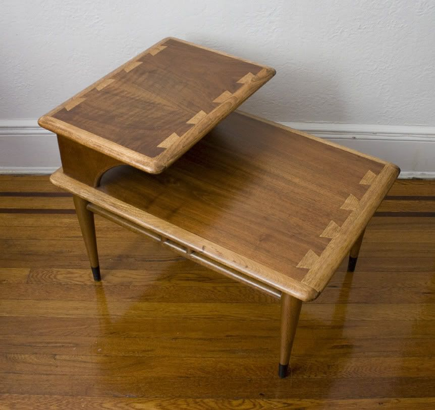 I have this table! It's one of my favorite pieces. Found it in a shed and refinished it 10 years ago.