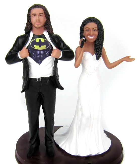 Personalized Wedding Cake Toppers