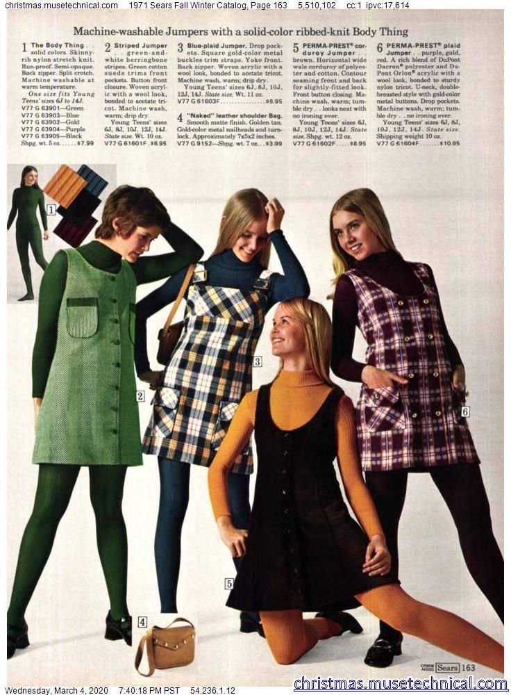 1971 Sears Fall Winter Catalog, Page 163 - Christm