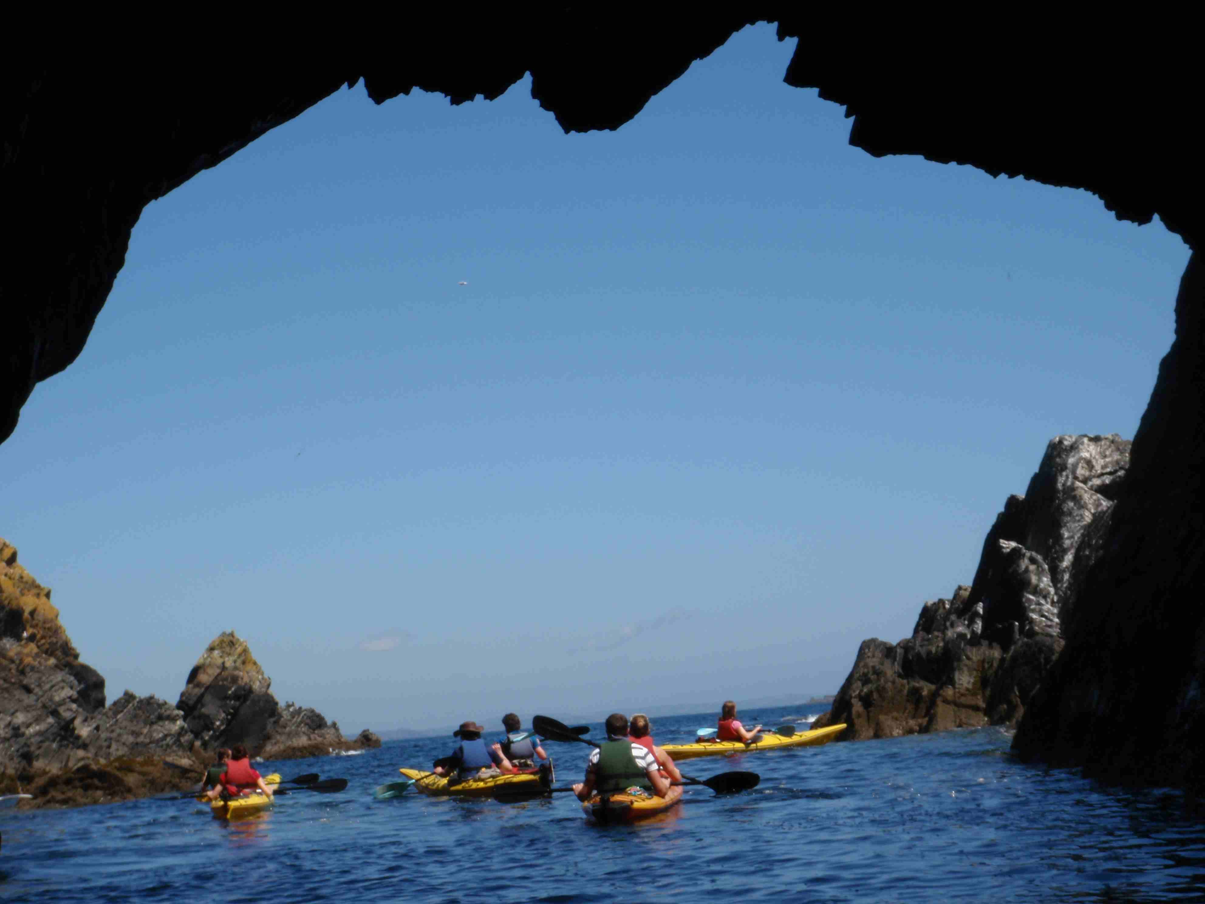 Atlantic Sea Kayaking West Cork Ireland Half Day West Cork