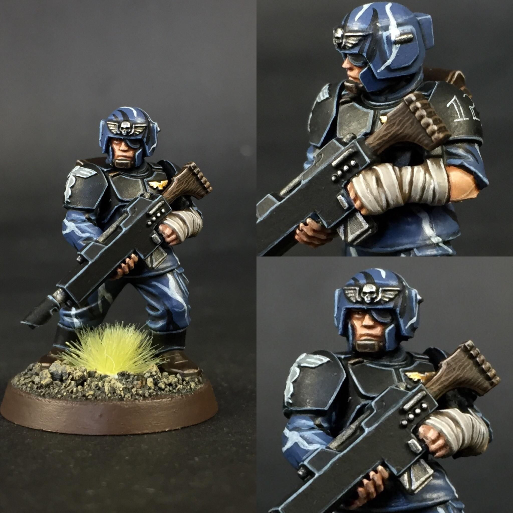 Look At That Bloody Detail On The Face, My Cadians Come