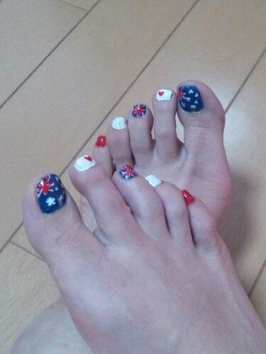 My foot nail