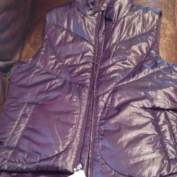 FINAL DISCOUNT GAP Vest in Purple - Size XL Worn once!! Amazing deal! GAP Jackets & Coats