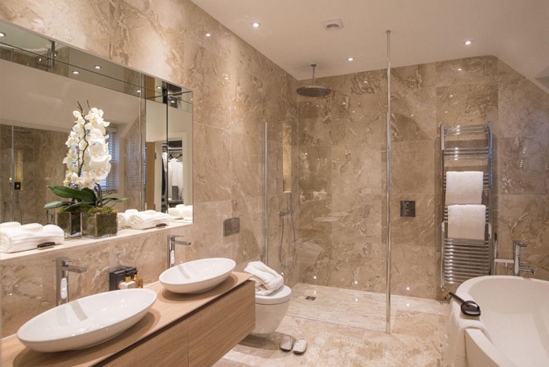 Brilliant 30 Luxurious Bathroom Design Ideas for Bathroom Like 5 Star Hotel  https://